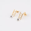 Stairway to Heaven Ladder Man Stud Earrings