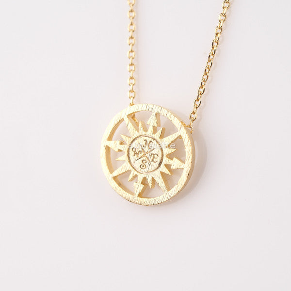 Sun Compass Necklace