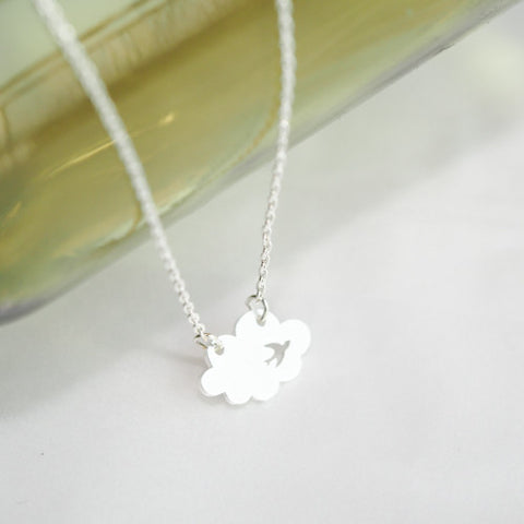 Cloud Bird Necklace