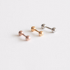 Simple Geometric Ball Tragus_P102