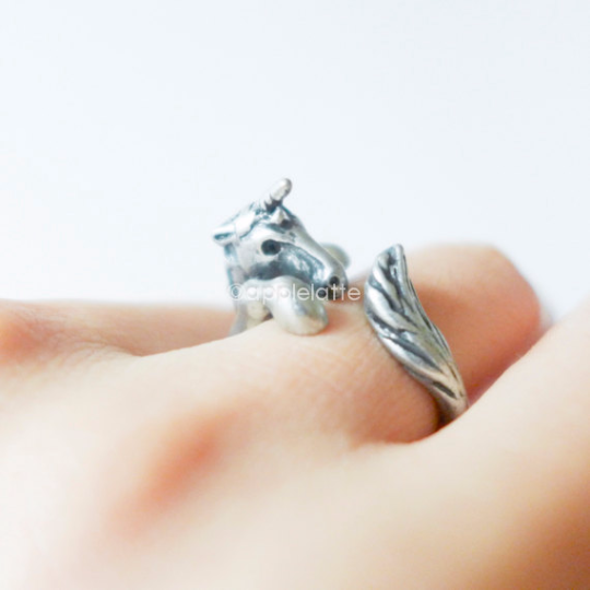 unicorn ring size 5 ~ 9 us