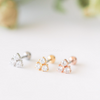 Three Stone Cartilage Earring_P120