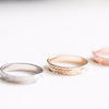 simple midi ring, knuckle ring, simple band gold, silver or rose gold