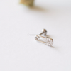 CZ Safety Pin Cartilage Piercing_P116