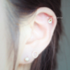 Star Barbell Cartilage_P039