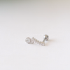 CZ Dangle Stone Cartilage Piercing_P134