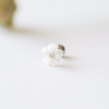 White Flower Barbell Cartilage_P106