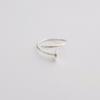 Nail ring in sterling silver 925