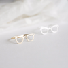 glasses ring in gold or silver