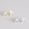 Kangaroo Earrings, Animal Earrings, Zoo Jewerly