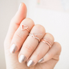 kisses knuckle ring ,criss cross midi ring,  knuckle crossing ring, modern cross midi ring, x ring,