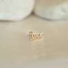 14K Solid Yellow Gold Love Barbell Cartilage_PS144