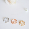 whirlwind knuckle ring, circle midi ring, geometric knuckle ring, wave midi ring, minimal ring, simple ring, pinky ring