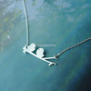 Tiny Love Bird Necklace