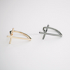 sideways cross ring, gold sideways cross ring, silver sideways cross ring, black sideways cross ring