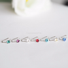 birthstone ear cuff,  ear wrap, birthstone cartilage cuff, non pierced, clip on earring for non pierced ears, swarovski crystal birthstone