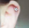Crown Barbell Cartilage_P135