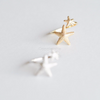 starfish ring in gold or silver, star fish ring, star fish jewelry, sea summer jewelry, beach wedding, bridesmaid gift_R001