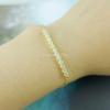 simple rhinestone bar bracelet, crystal bar bracelet in gold or silver