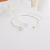 white Moonstone bracelet in gold or silver , white bracelet , wedding, bridesmaid gift,bangle,cuff,