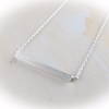 Slim Long Bar Necklace