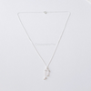 Libra Zodiac Sign Necklace In Sterling Silver 925, The Scales Necklace