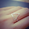 triangle ring, pyramid ring