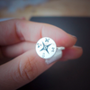 compass ring in sterling silver 925, sterling compass ring, nautical ring, travel ring