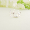 sterling silver tiara crown ring