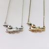 Burnished Bunny Necklace