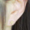 Shiny Flower Tragus Piercing_P001