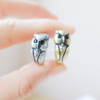 owl ring size 5 ~ 9 us