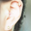 Crescent Moon Star Ear Piercing_P142