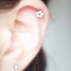 Cute Flower Barbell Cartilage_P127