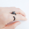 black Cat ring size 5 ~ 9 us