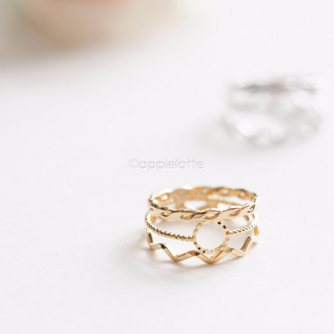3 Rings Held Together_ Stacking Ring