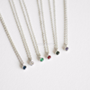 Minimal Crystal Necklace