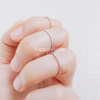 knuckle ring, pinky ring, skinny ring, stackable bands