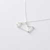 Sagittarius Zodiac Sign Necklace In Sterling Silver 925, The Archer necklace