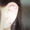 Star Barbell Cartilage_P043