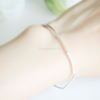 sterling silver stretch bracelet, minimal plain bracelet, stacking bracelet, sterling silver 925 bracelet, bridesmaid gift