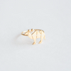 origami camel ring, camel ring, animal ring, knuckle ring, animal jewelry, delicate jewelry