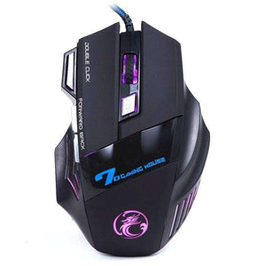 3200DPI LED Optical 7D USB Wired Gaming Mouse - eMalleu Gadgets Shop