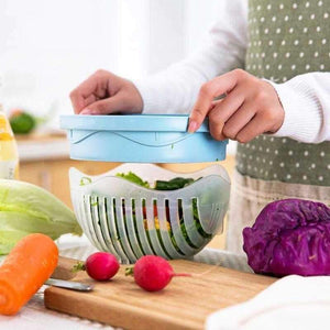 60 Seconds Salad Cutter - Shopping Gadgets at GadgetRock