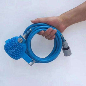 Pet Shower Sprayer and Scrubber - Shopping Gadgets at GadgetRock