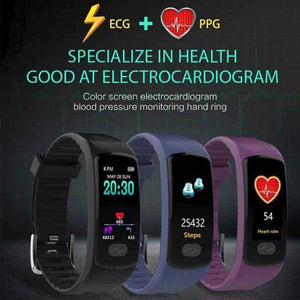 Bluetooth Smart Watch + Blood Pressure Heart Rate - eMalleu Gadgets Shop