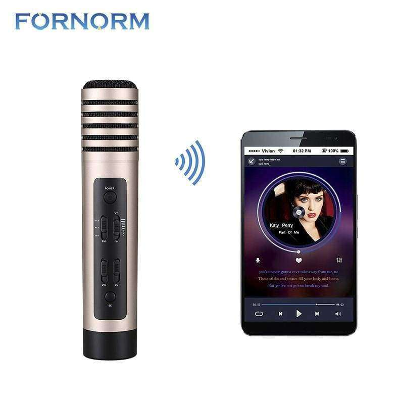 FORNORM Wireless Karaoke Microphone - Shopping Gadgets at GadgetRock