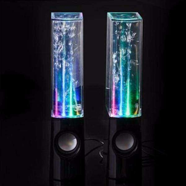 LED Dancing Water Speakers - Shopping Gadgets at GadgetRock