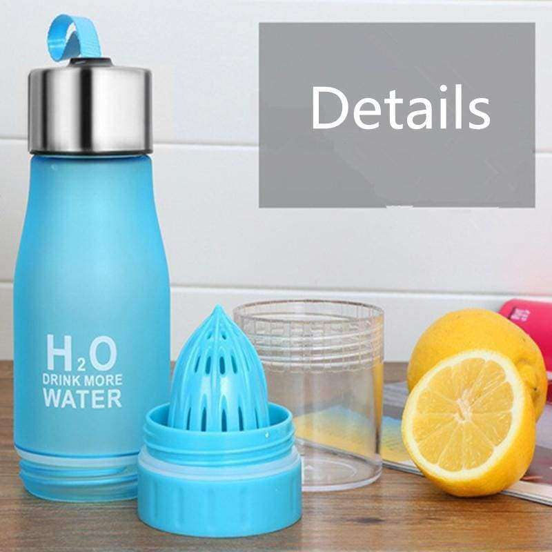 Plastic Water Fruit Infusion Bottle 650ml - Shopping Gadgets at GadgetRock