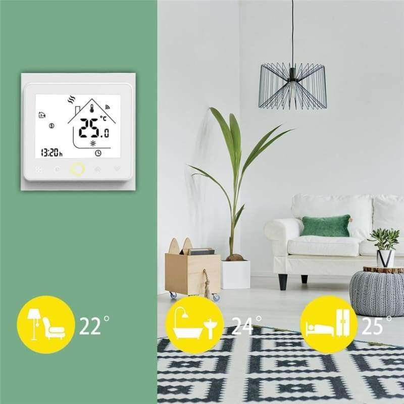 WiFi Smart Thermostat - Shopping Gadgets at GadgetRock
